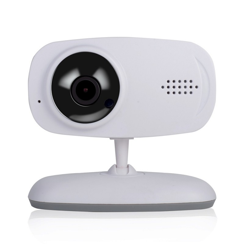 720P HD Wireless WIFI Camera Network Baby Care Support Voice Alarm Mobile Video - White - 3R82366212