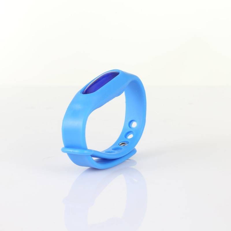 Essential Oil Silicone Mosquito Repellent Wrist Band Bracelet - Blue - 3128485114