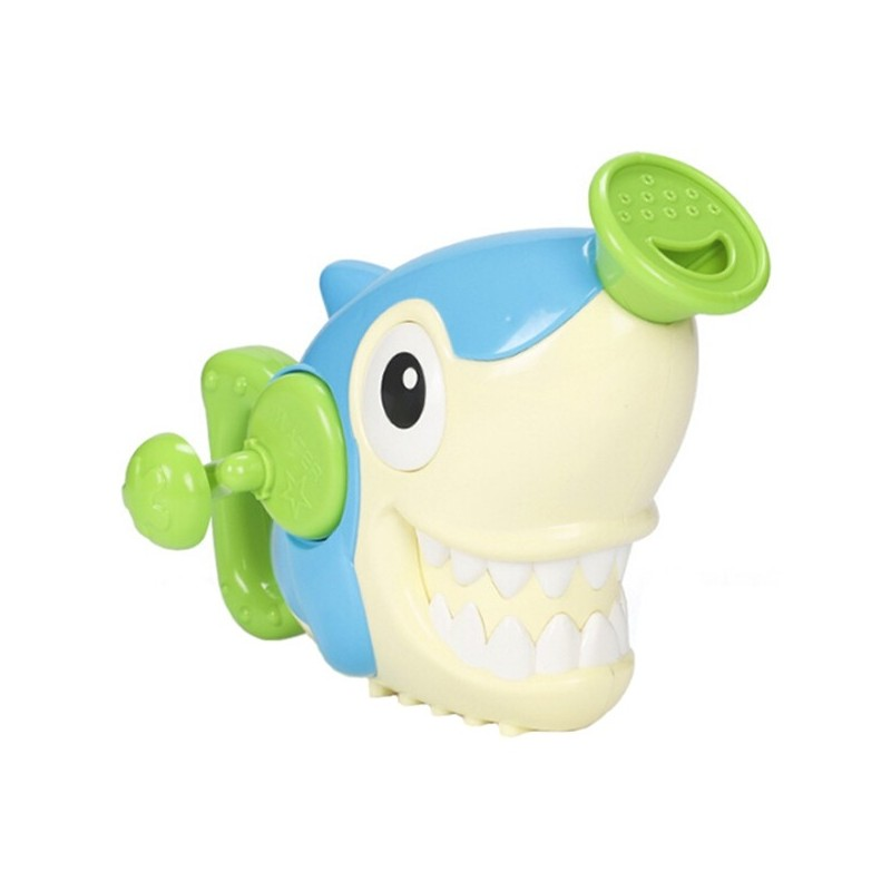 Children's Hand Spray Shower Head Toy Shark - White - 5P40394312