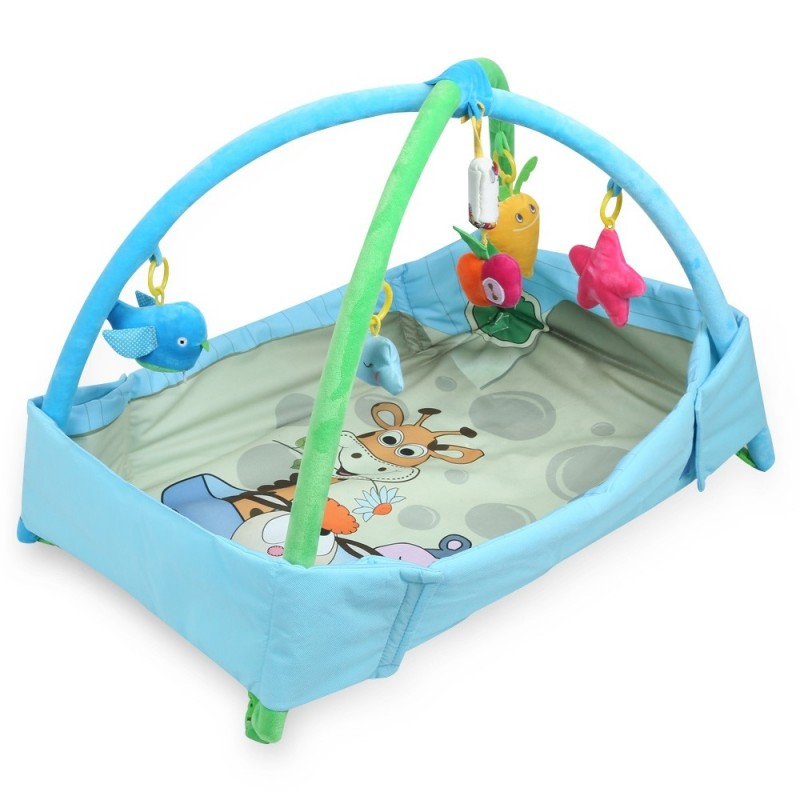 Baby Game Mat Playing Carpet Infant Kids Educational Toy - Blue - 3O74483112