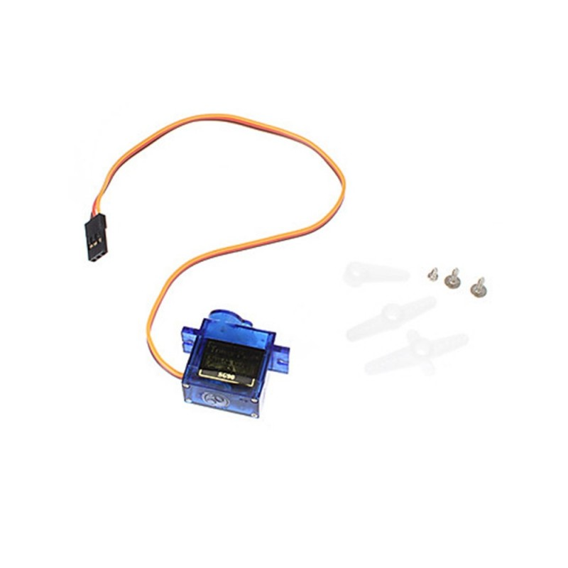 Sg90 9G Micro Small Servo Motor Rc Robot Helicopter Airplane Controls - Celeste - 4R24863812