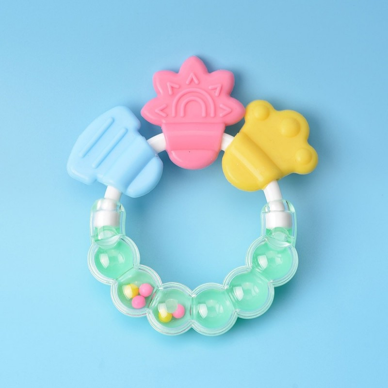 Baby's Teether Bell Cute Baby Product - Light Slate - 4I83347213