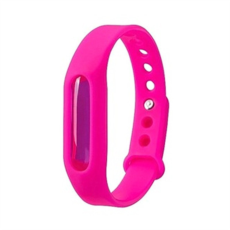 Mosquito Repellent Bracelet for Kids Adults Natural Anti - Rose Red - 3M78611618