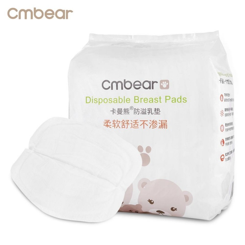 Cmbear 108pcs Ultra Soft Disposable Breathable Anti-spill Breast Nursing Pads - White - 3Q86826712
