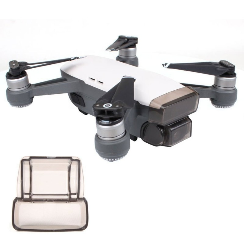 Gimbal Cover Lens Cap for DJI Spark - Transparent - 3953632012