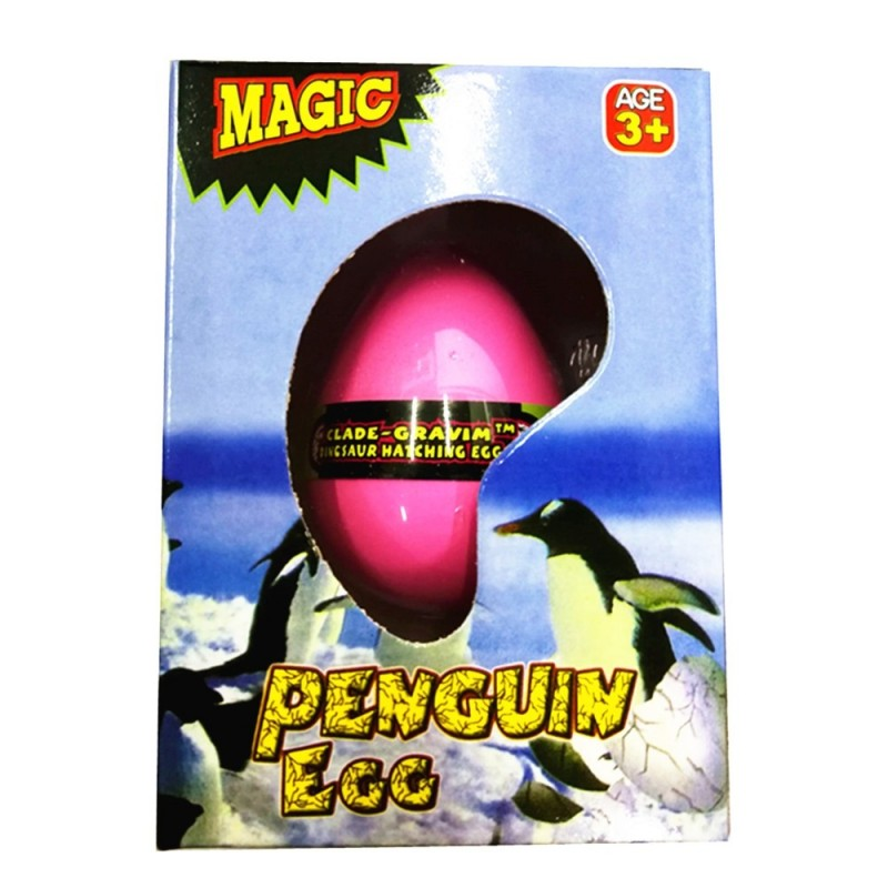 Penguin Egg Water Hatching Magic Children Kids Toy - Red - 3N69372112