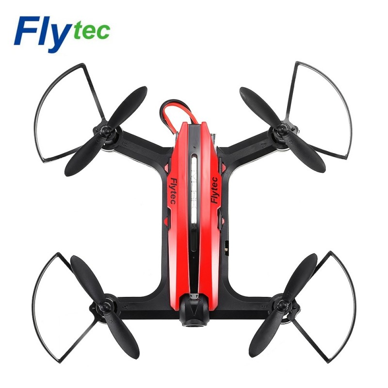 Flytec T18 RC Quadcopter Aircraft 2.4G 4CH WiFi FPV HD Camera - Red - 3021500916
