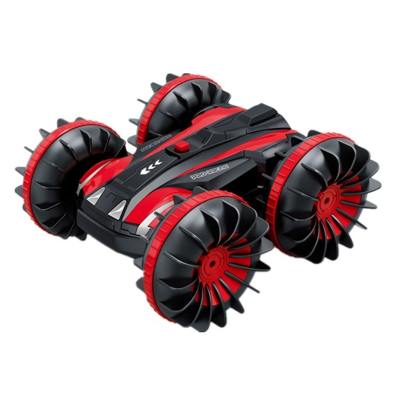 RC Stunt Car on Water and Land Amphibious Electric Toy - Multi-B - 4J08037813