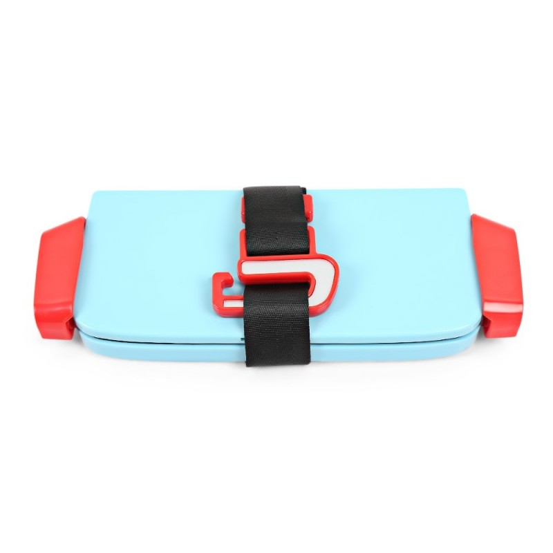 Portable Foldable Children Kids Safety Booster Car Seat Adjustable Strap - Blue Ivy - 3D87464512