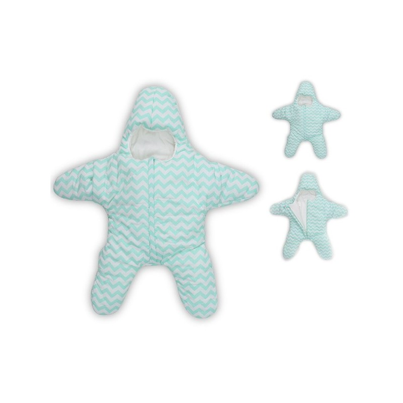 Baby Lovely Small Starfish Sleeping Bag - Green - 3Y41479013