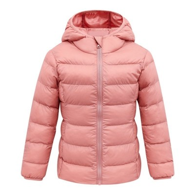 Lightweight Cotton-padded Unisex Coat for Children - Pink - 4C42598412