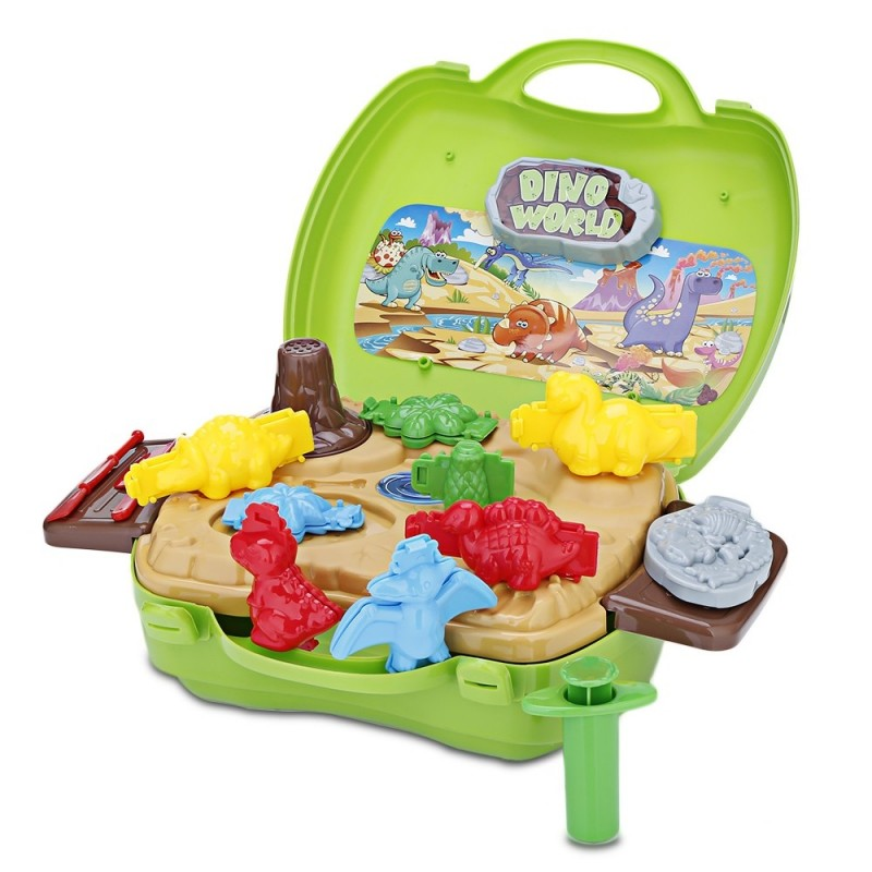 BOWA Kids Play Set Dough Suitcase Toy Potable in Carrying - Colormix - 3A45676912