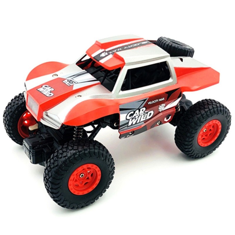 8216A+ 1/20 RC Car Off-road Crawler Remote Control Toy - Red - 4617728013
