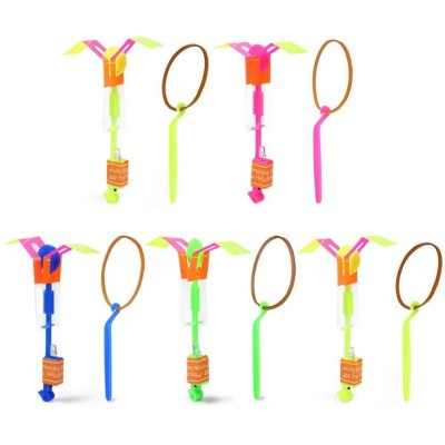 5PCs Set Flash LED Arrow Flying Shooter Children Outdoor Toy for Entertainment - Colormix - 2F91711312