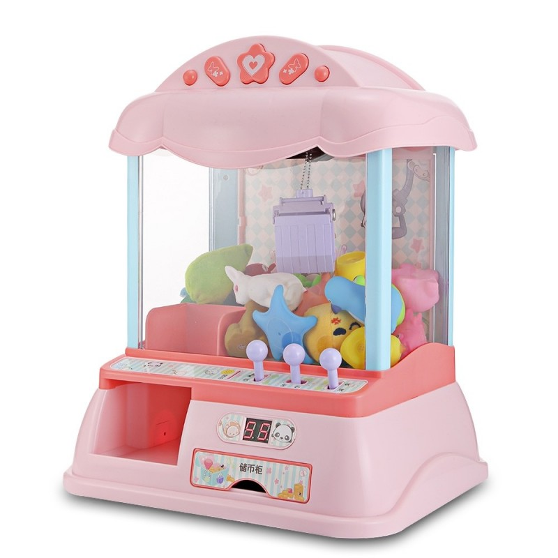 THE NORTH E HOME Mini Electronic Clip Claw Doll Machine Toy - Multi - 3N94383712