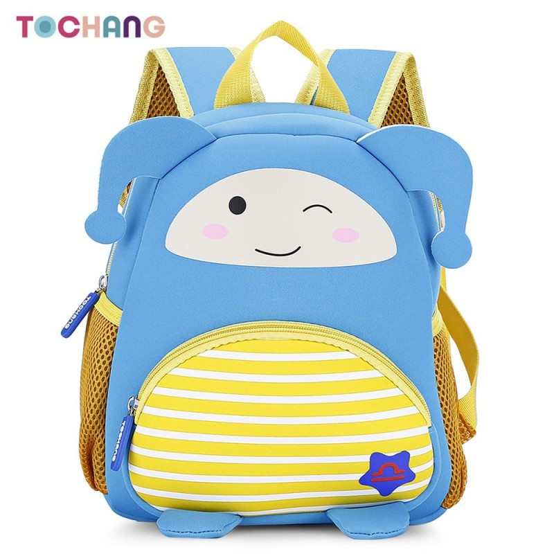 TOCHANG Kid Cartoon Constellation Backpack Cute School Bag - Blue Ivy - 3276212422