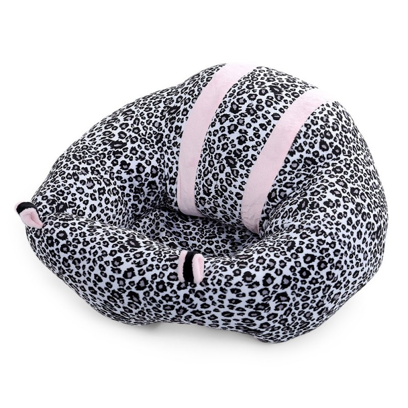 Portable Soft Sofa Floor Seat Cute Cushion Plush Kids Toy - Leopard - 3F15710415
