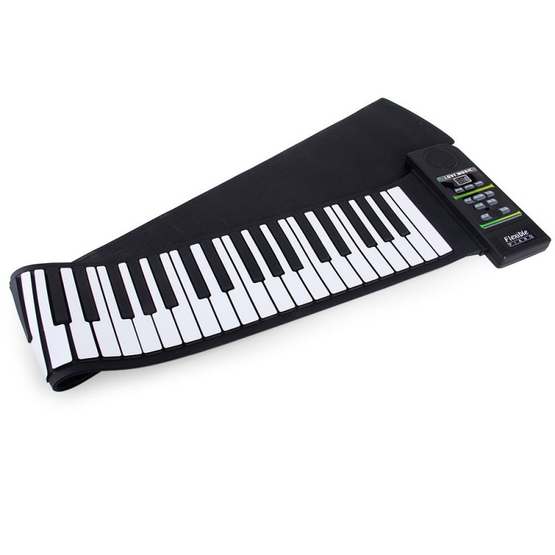 PN88S MIDI Roll Up Pinao Kit with 88 Keys - 100 - 240V - White And Black - 2H31102112