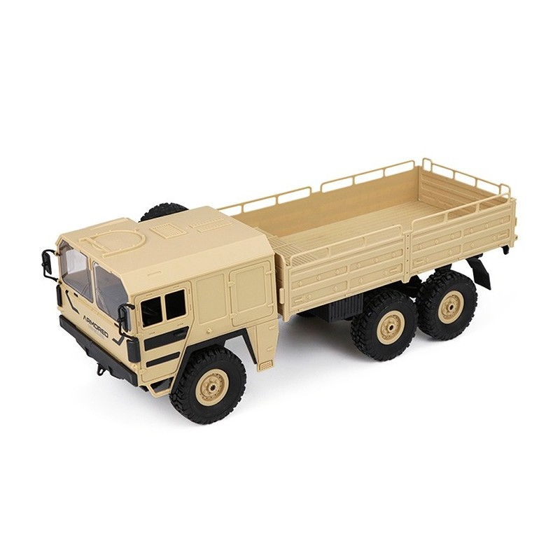 JJRC Q64 1 / 16 2.4G 6WD RC Car Military Truck RTR Toy - Champagne - 4B41848112