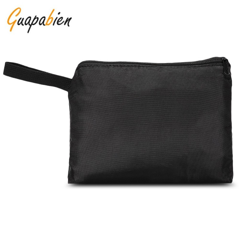 Guapabien Baby Umbrella Stroller Pushchair Travel Storage Bag Dust-proof Cover - Black - 3N83306912
