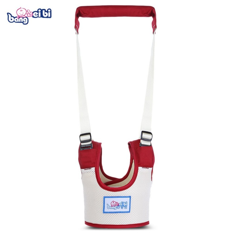Bangbeibi Baby Walker Harness Assistant Toddler Leash Kids Walking Safety Belt - Red Wine - 3J81018312
