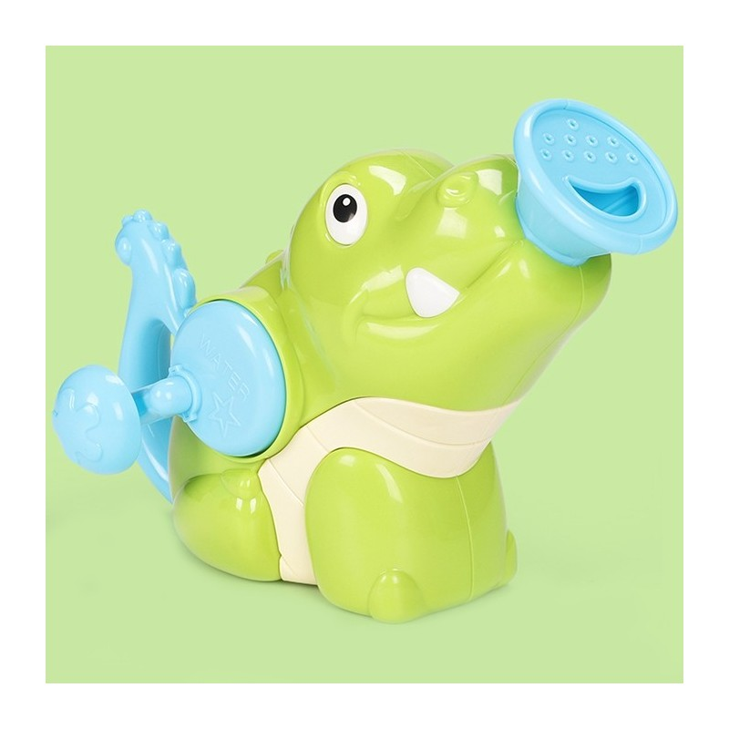 Children's Hand Spray Shower Head Toy - Green - 5O40395312