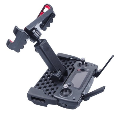Tablet Mount Holder Bracket for Mavic Pro Mavic Platinum DJI Spark Remote Controller - Black - 3A53514812