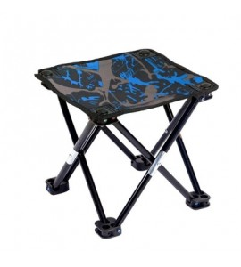 Outdoor Camping Portable Ultralight Chair Collapsible Stool - Royal Blue - 3Y84992912