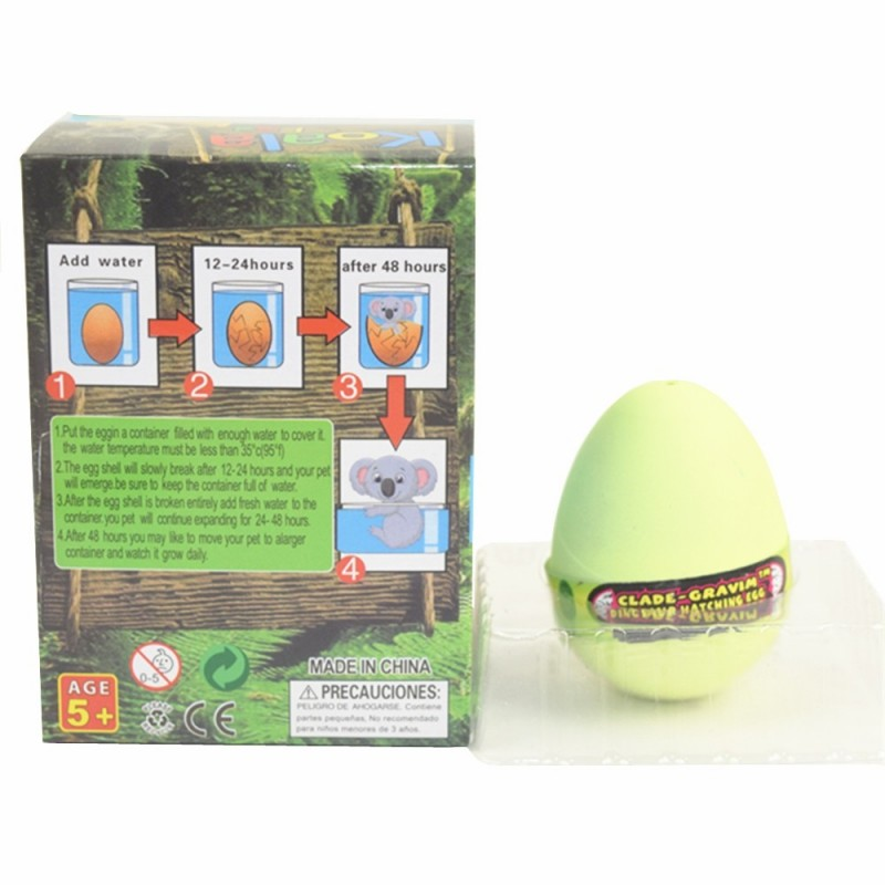 Koala Egg Water Hatching Magic Children Kids Toy - Lemon Chiffon - 3060497015