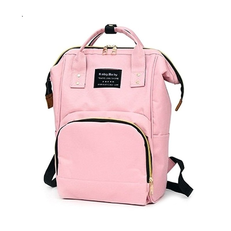 Multifunctional Waterproof Backpack for Daily Use - Pink - 5F49485514