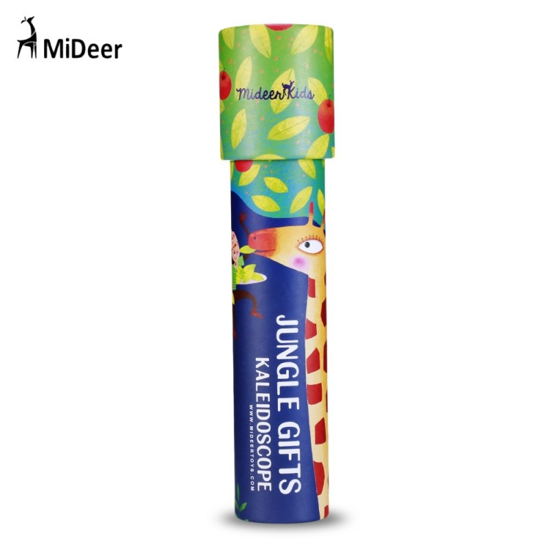 MiDeer Colorful Magic Kaleidoscope Children Cartoon Classic Educational Toy - Multi-E - 3879326416