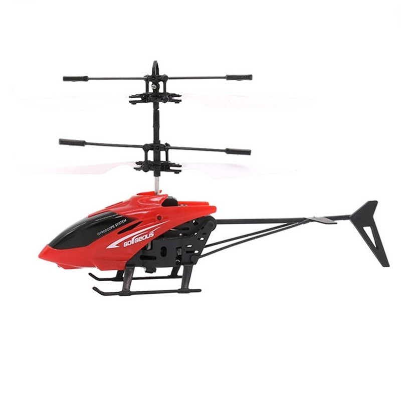 Infrared Induction Helicopter Toy for Kids - Red - 3048322212