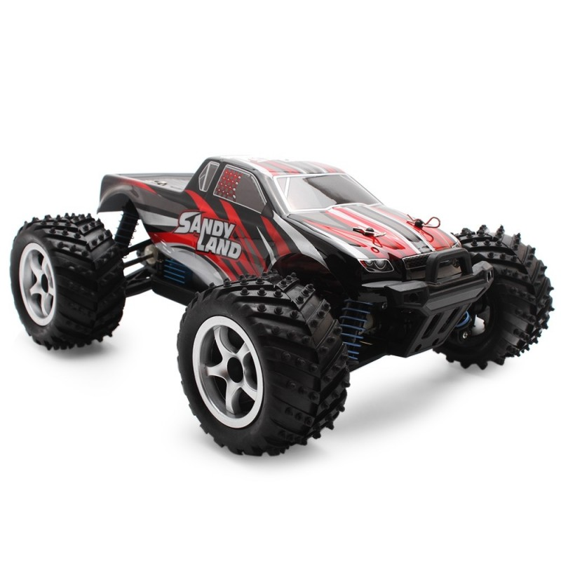 PXtoys 9300 1:18 4WD RC Racing Car RTR 40km/h / 2.4GHz Full Proportional Control / Brake - Red - 3I17896912