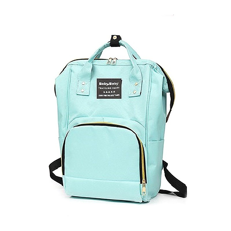 Multifunctional Waterproof Backpack for Daily Use - Light Aquamarine - 5449485515