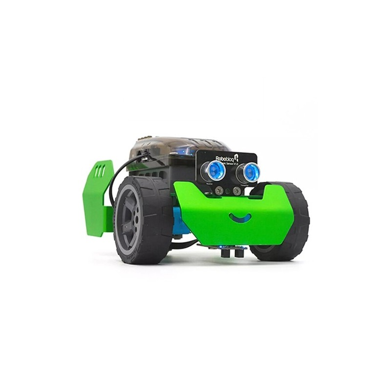 ROBOBLOQ Q - Scout DIY Smart RC Robot Car Kit Programmable Tracking APP Control - Green - 5F53610712