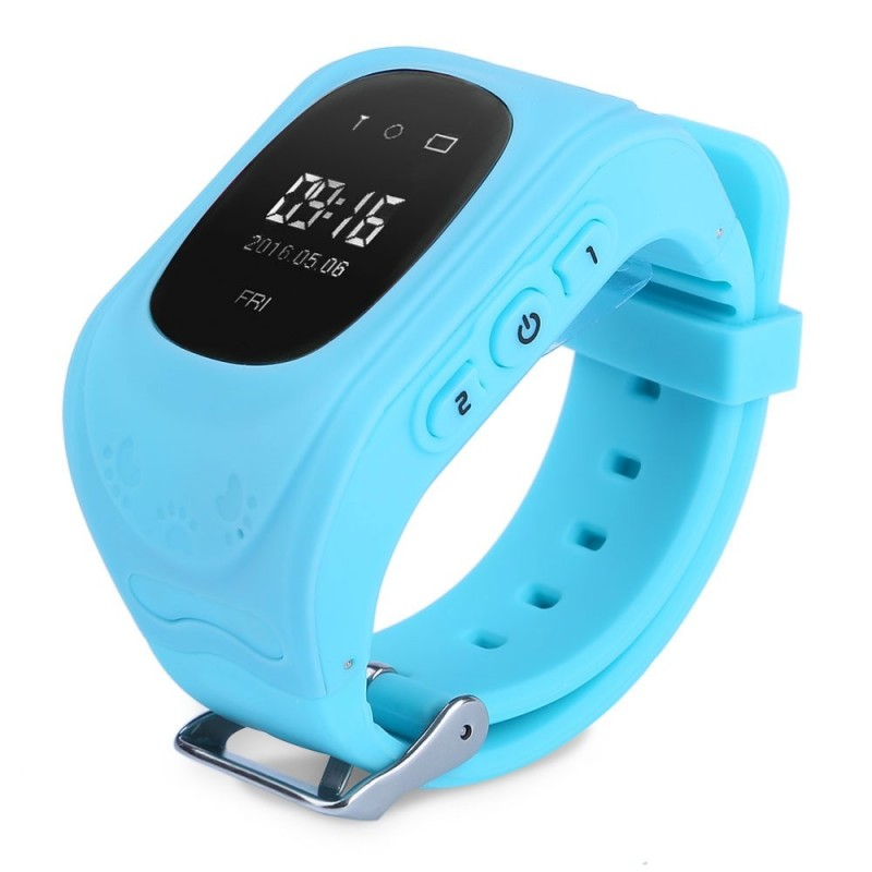Q50 (q1213) English Version Kids GPS Smart Watch Telephone - Blue - 2387190513