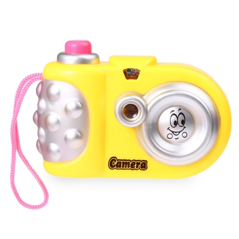 Children Cartoon Mini Shining Projection Camera Educational Toys - Colormix - 2K89285812