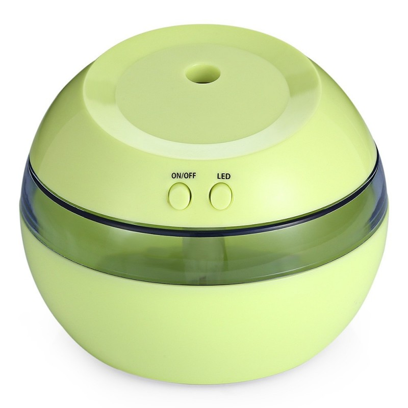 Super Sound-off USB Creative Gifts Humidifier / Aromatherapy Machine / Air Cleaner - Green - 2S01124913
