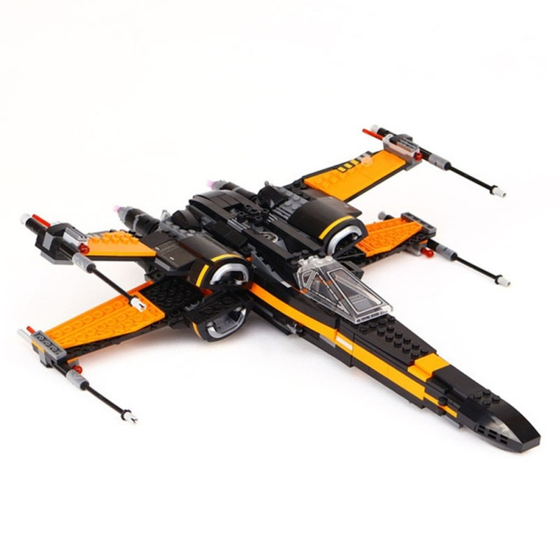DIY Building Blocks Fighter Aircraft Model Intelligence Toy Gift - Multi - 3D77483412
