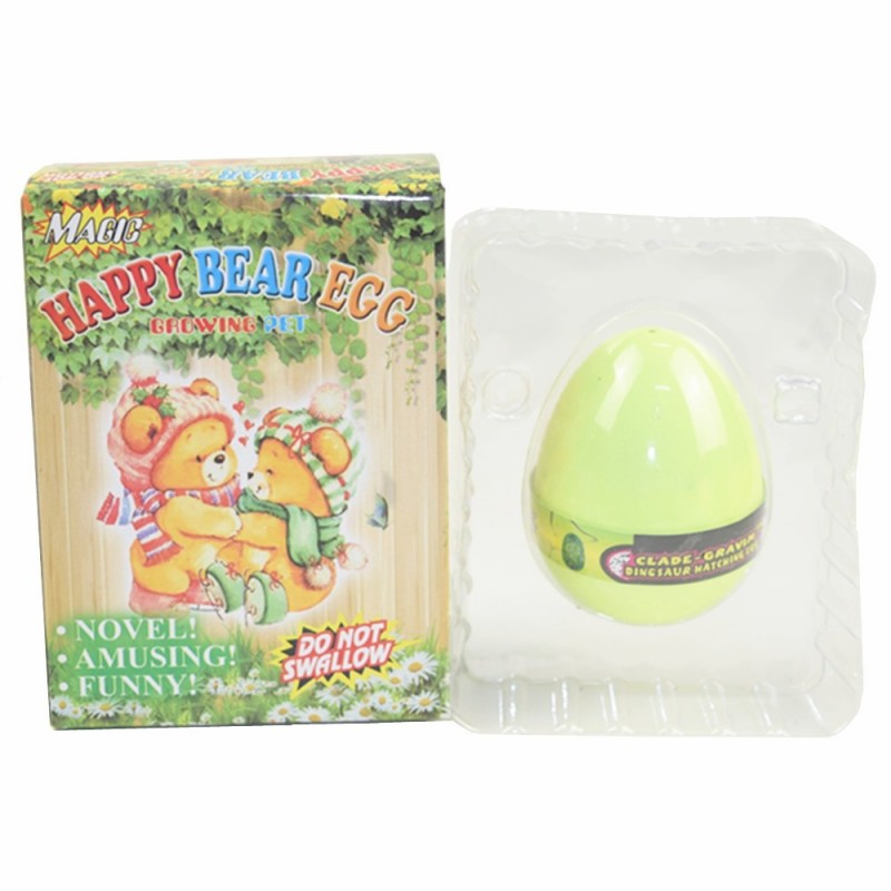 Happy Bear Egg Water Hatching Magic Children Kids Toy - Sun Yellow - 3A60299515