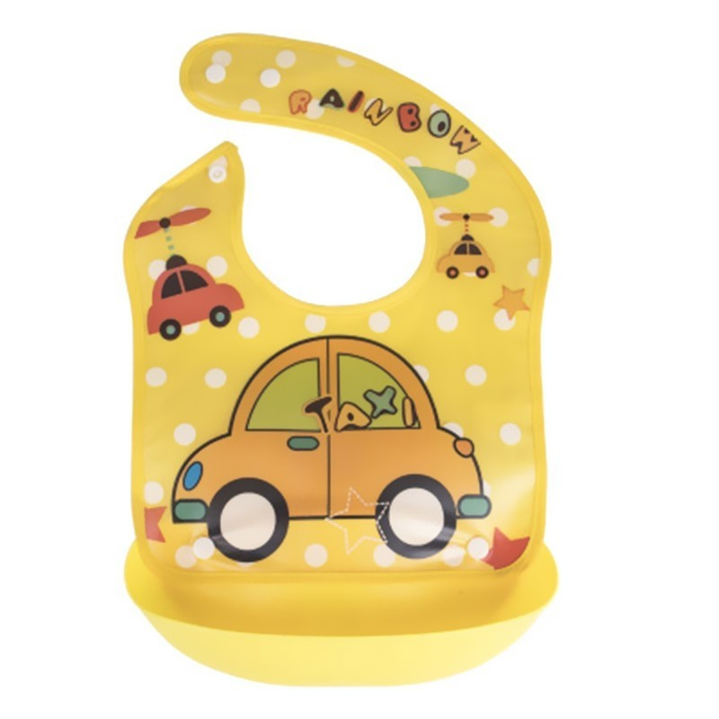 New Children'S Detachable Waterproof Eating Bib - Multi-C - 4M10504014