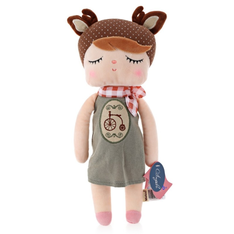 Metoo Angela Stuffed Plush Doll Toy for Kids Adults - Bike - Colormix - 3322419112