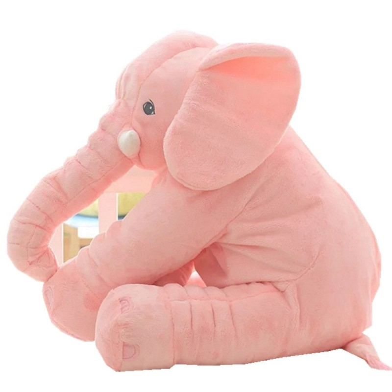 Infant Soft Appease Elephant Playmate Calm Doll Baby Toy - Rose - 3688262814