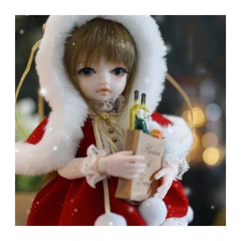 Monst Simulation Cute BJD Doll Toy from Xiaomi Youpin - Red - 5248364614