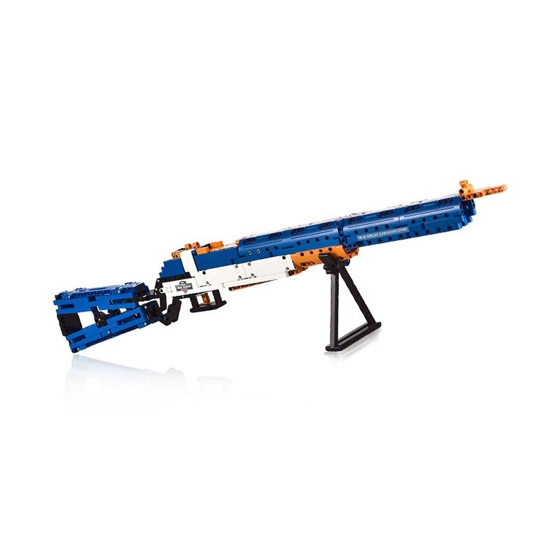 CaDA C81002W M1 Type Garand Rifle Building Block Toy - Blue - 5852750812