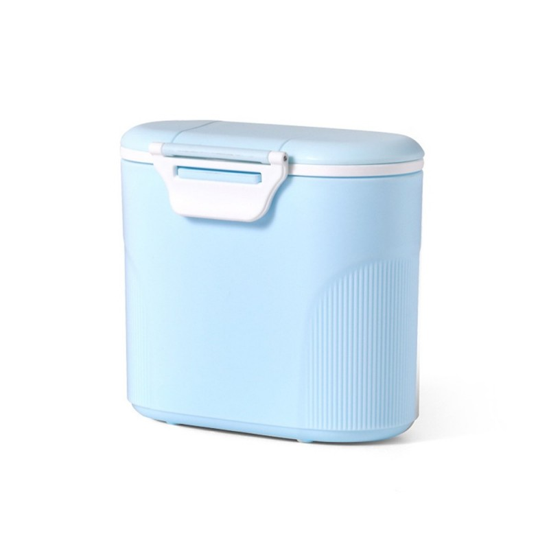Multifunction Travel Baby Portable Milk Powder Box - Light Blue - 4D10719014
