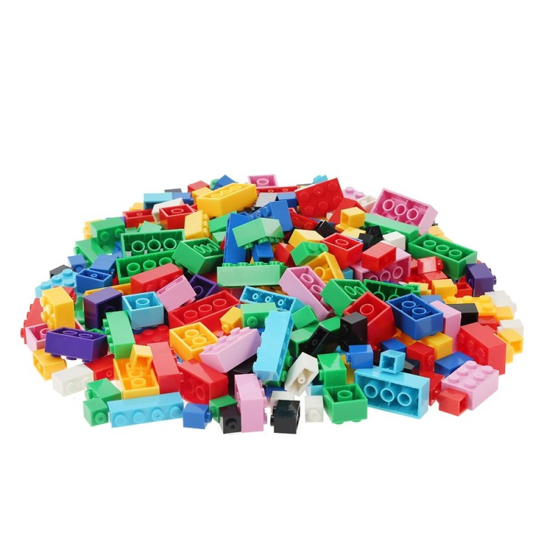 1000pcs DIY Building Blocks Particles Assembled Children Toys - Multicolor - 3U54645212