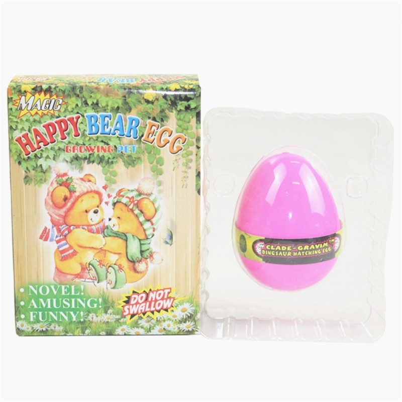 Happy Bear Egg Water Hatching Magic Children Kids Toy - Carnation Pink - 3Z60299512