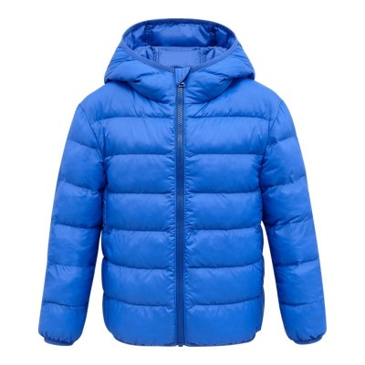 Lightweight Cotton-padded Unisex Coat for Children - Sky Blue - 4T42598426