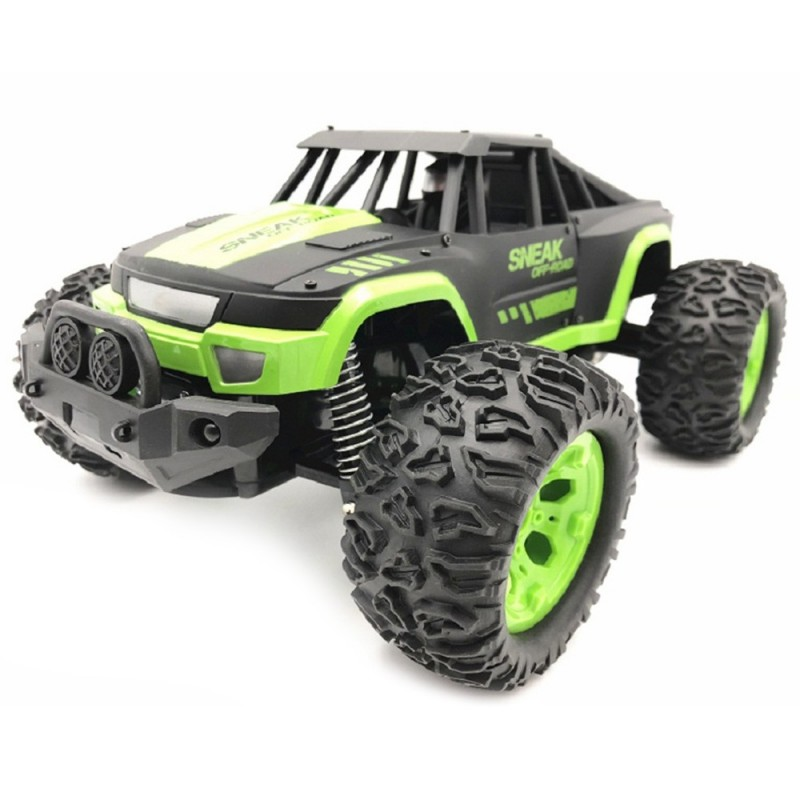 UJ99 - 1211B 1 / 12 High Speed Off-road Vehicle Toy - Yellow Green - 5I21123613